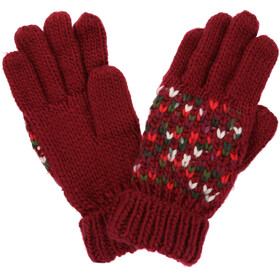 Regatta Frosty III Gloves Women, delhi red